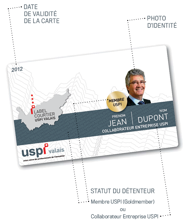 carte label courtier